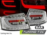 AUDI A6 C6 SEDAN 04.04-08 CHROME LED 7PIN Tuning-Tec Hátsó Lámpa