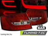 AUDI A6 C6 SEDAN 04.04-08 RED WHITE LED 7PIN Tuning-Tec Hátsó Lámpa