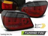 BMW E60 LCI 03.07-12.09 RED SMOKE LED SEQ Tuning-Tec Hátsó Lámpa