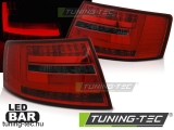 AUDI A6 C6 SEDAN 04.04-08 RED WHITE LED BAR 7-PIN  Tuning-Tec Hátsó Lámpa