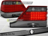 MERCEDES W140 95-10.98 RED SMOKE LED  Tuning-Tec Hátsó Lámpa