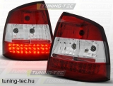 OPEL ASTRA G 09.97-02.04 RED WHITE LED  Tuning-Tec Hátsó Lámpa