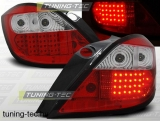 OPEL ASTRA H 03.04-09 RED WHITE LED  Tuning-Tec Hátsó Lámpa