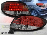 PEUGEOT 206 10.98- RED WHITE LED  Tuning-Tec Hátsó Lámpa
