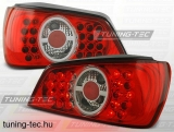 PEUGEOT 306 02.93-03.01 RED WHITE LED  Tuning-Tec Hátsó Lámpa