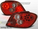 PEUGEOT 307 04.01-07 RED WHITE LED  Tuning-Tec Hátsó Lámpa