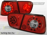 SEAT IBIZA 09.99-03.02 RED WHITE LED  Tuning-Tec Hátsó Lámpa