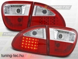SEAT LEON 04.99-08.04 RED WHITE LED  Tuning-Tec Hátsó Lámpa