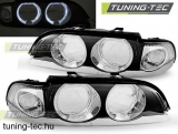 09.95-08.00 BMW E39 Angel Eyes D2S/H7 Bowl CHROME  SEDAN/TOURING Tuning-Tec lámp