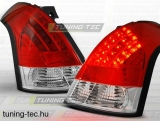 SUZUKI SWIFT 05.05-10 RED WHITE LED  Tuning-Tec Hátsó Lámpa