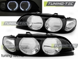 09.95-08.00 BMW E39 Angel Eyes H7/H7 Bowl FEKETE  SEDAN/TOURING Tuning-Tec lámpa