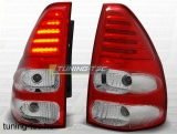 TOYOTA LAND CRUISER 120 03-09 RED WHITE LED  Tuning-Tec Hátsó Lámpa