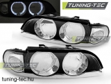 09.95-08.00 BMW E39 Angel Eyes H7/H7 Bowl CHROME  SEDAN/TOURING Tuning-Tec lámpa