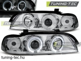 BMW E39 Angel Eyes króm 09.95-05.03  SEDAN/TOURING Tuning-Tec Fényszóró