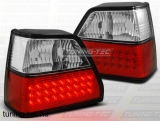VW GOLF 2 08.83-08.91 RED WHITE LED  Tuning-Tec Hátsó Lámpa