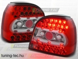 VW GOLF 3 09.91-08.97 RED WHITE LED  Tuning-Tec Hátsó Lámpa