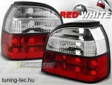 VW GOLF 3 09.91-08.97 RED WHITE  Tuning-Tec Hátsó Lámpa