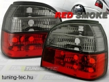 VW GOLF 3 09.91-08.97 RED SMOKE  Tuning-Tec Hátsó Lámpa