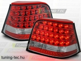 VW GOLF 4 09.97-09.03 RED LED  Tuning-Tec Hátsó Lámpa