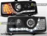 VW T4 90-03.03 TRANSPORTER DAYLIGHT BLACK LED INDICATION Tuning-Tec Fényszóró