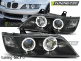 BMW Z3 COUPE / ROADSTER Angel Eyes fekete 01.96-02  Tuning-Tec Fényszóró