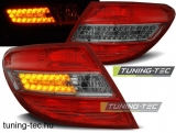 MERCEDES C-KLASA W204 SEDAN 07-10 RED SMOKE LED  Tuning-Tec Hátsó Lámpa