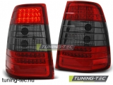MERCEDES W124 E-KLASA KOMBI 09.85-95 RED SMOKE LED  Tuning-Tec Hátsó Lámpa