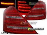 MERCEDES W221 S-KLASA 05-09 RED WHITE LED Tuning-Tec Hátsó Lámpa