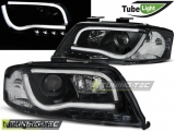 AUDI A6 05.97-05.01 LED TUBE LIGHTS BLACK Tuning-Tec Fényszóró