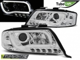 AUDI A6 05.97-05.01 LED TUBE LIGHTS CHROME Tuning-Tec Fényszóró