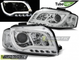 AUDI A3 8P 05.03-03.08 LED TUBE LIGHTS CHROME Tuning-Tec Fényszóró