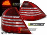 MERCEDES W220 S-KLASA 09.98-05.05 RED WHITE LED Tuning-Tec Hátsó Lámpa