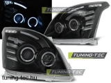 TOYOTA LAND CRUISER 120 03-09 ANGEL EYES BLACK Tuning-Tec Fényszóró