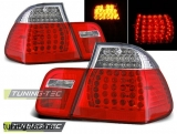 BMW E46 09.01-03.05 SEDAN RED WHITE LED Tuning-Tec Hátsó Lámpa