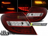 MERCEDES C-KLASA W204 SEDAN 07-10 RED WHITE LED BAR Tuning-Tec Hátsó Lámpa
