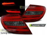 MERCEDES C-KLASA W204 SEDAN 07-10 RED SMOKE LED BAR  Tuning-Tec Hátsó Lámpa