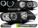 BMW X5 E53 09.99-10.03 LED LED ANGEL EYES XENON BLACK Tuning-Tec Fényszóró