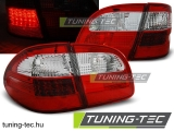 MERCEDES W211 WAGON E-KLASA 02-06 RED WHITE LED Tuning-Tec Hátsó Lámpa