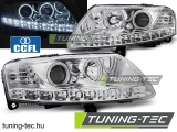 AUDI A6 C6 04.04-08 ANGEL EYES LED CHROME Tuning-Tec Fényszóró