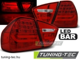 BMW E90 03.05-08.08 RED LED BAR Tuning-Tec Hátsó Lámpa