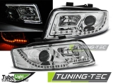 AUDI A4 10.00-10.04 LED TUBE LIGHTS CHROME Tuning-Tec Fényszóró