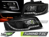 AUDI A4 10.00-10.04 LED TUBE LIGHTS BLACK Tuning-Tec Fényszóró