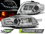 AUDI A4 B7 11.04-03.08 LED TUBE LIGHTS CHROME Tuning-Tec Fényszóró