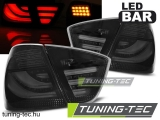 BMW E90 03.05-08.08 SMOKE BLACK LED BAR Tuning-Tec Hátsó Lámpa