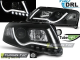 AUDI A6 C6 04.04-08 LED TUBE LIGHTS TRUE DRL BLACK Tuning-Tec Fényszóró