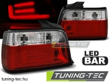 BMW E36 12.90-08.99 SEDAN RED WHITE BAR LED Tuning-Tec Hátsó Lámpa