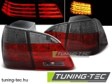 BMW E61 04-03.07 TOURING RED SMOKE LED Tuning-Tec Hátsó Lámpa
