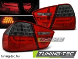 BMW E90 03.05-08.08 RED SMOKE LED BAR Tuning-Tec Hátsó Lámpa
