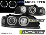 BMW E39 09.95-06.03 ANGEL EYES LED H7/H7 BLACK Tuning-Tec Fényszóró