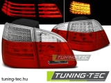 BMW E61 04-03.07 TOURING RED WHITE LED Tuning-Tec Hátsó Lámpa